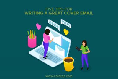 cover email, writing a cover email, email writing