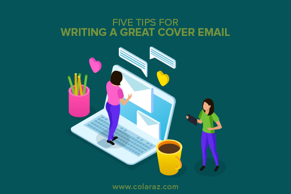 cover email, writing a cover email, email writing