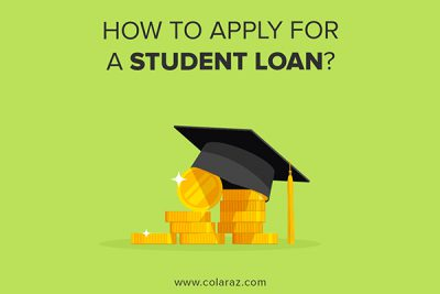 apply for a student loan, student guide, student help