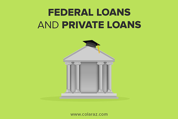 federal leans, private loans, student loan