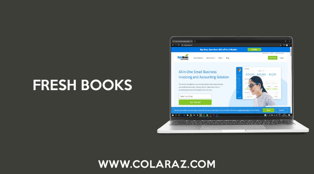 Fresh Books, Accounting Management, Online Software