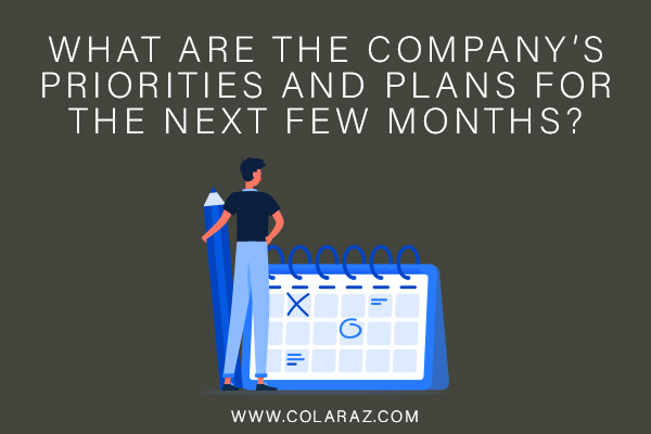Future Plans, Workplace Priorities, COVID-19