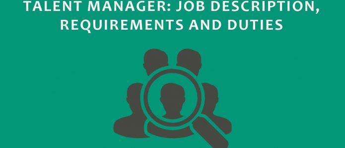 Talent Acquisition, Job Description, Manager Roles & Responsibilities