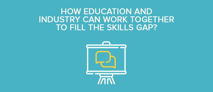 Skills gap, education, industry, higher education, courses, technical courses, online courses, online education